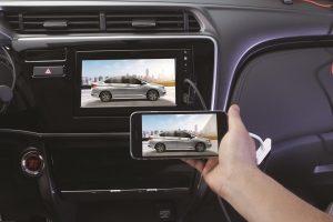 Hế thống Audio hiển thị bằng màn hình cảm ứng