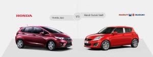 Tổng quan về giá bán của Honda Jazz và Suzuki Swift