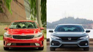 So sánh thiết kế của xe Honda Civic 2019 với Kia Cerato 2019
