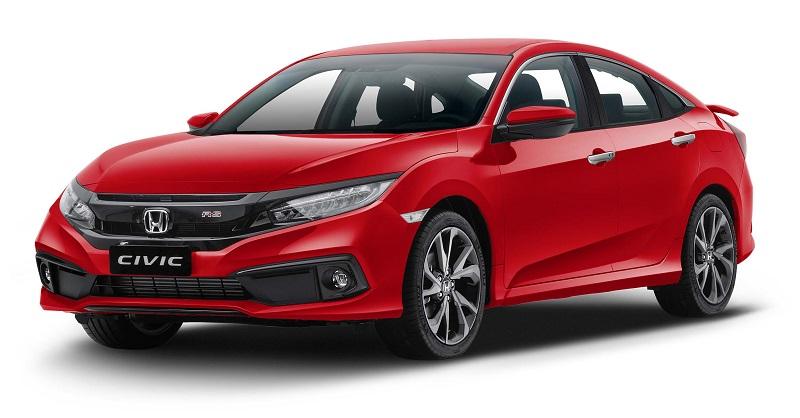 Honda Civic 2020 có tổng cộng bao nhiêu màu sắc (Phần 1)