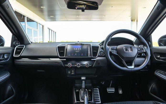 Sơ lược điểm mới ở bản hatchback của Honda City 2021